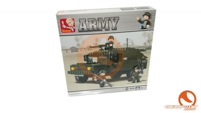 Hummer 191 bloques Sluban Army